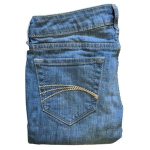 Decree Super Skinny Low Rise Patched/Ripped Jean 0